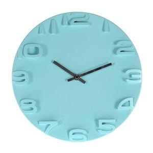 Nástenné hodiny Plastic Blue