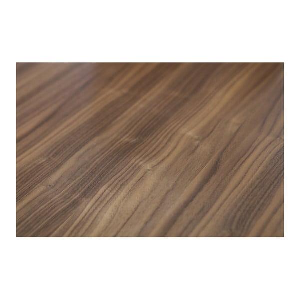 Jedálenský stôl z orechovej dýhy WOOOD James, 200×90 cm