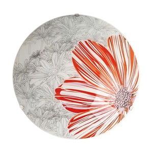 Nástenné svetlo Red Spring Round, 30 cm