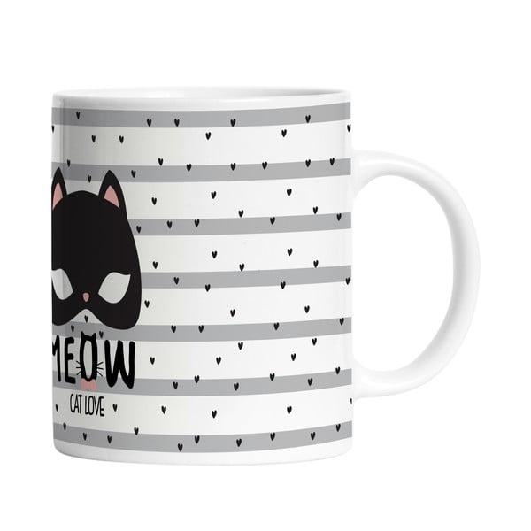 Keramický hrnček Cat Love, 330 ml