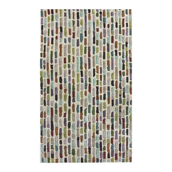 Vlnený koberec Multi Stripes, 152x244 cm