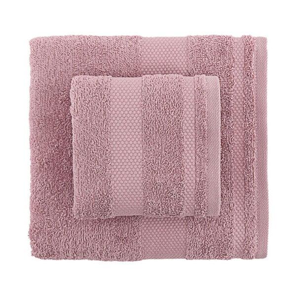 Sada 2 fialových uterákov Clio
