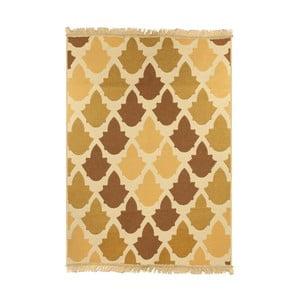Hnedo-béžový koberec Ya Rugs Baklava, 120x180cm