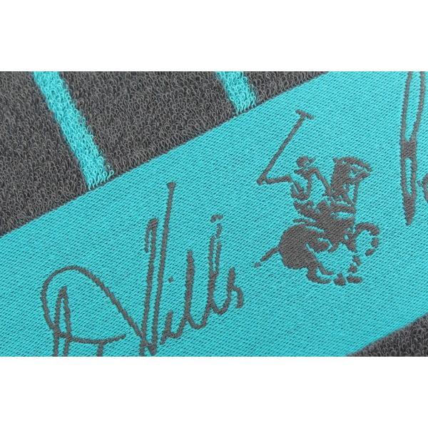 Bavlnená osuška BHPC 80x150 cm, tyrkysovo-modrá
