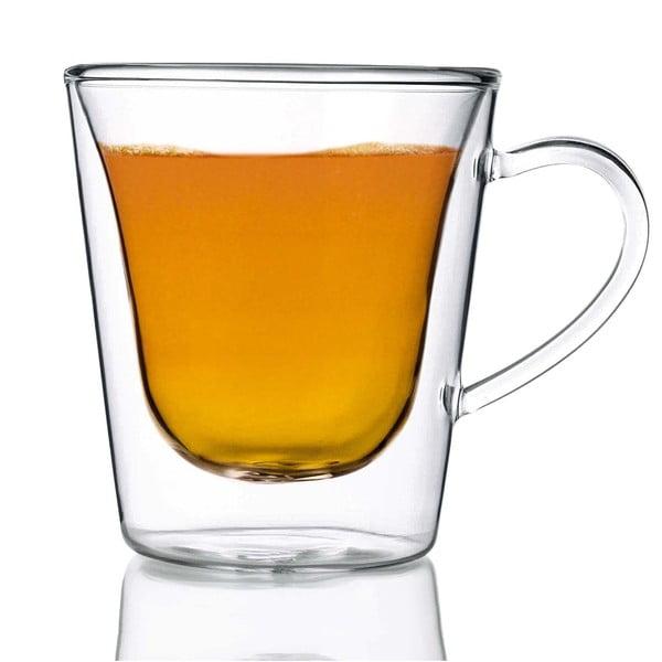 Sada 2 dvojstenných pohárov  Bredemeijer Coffee&Tea