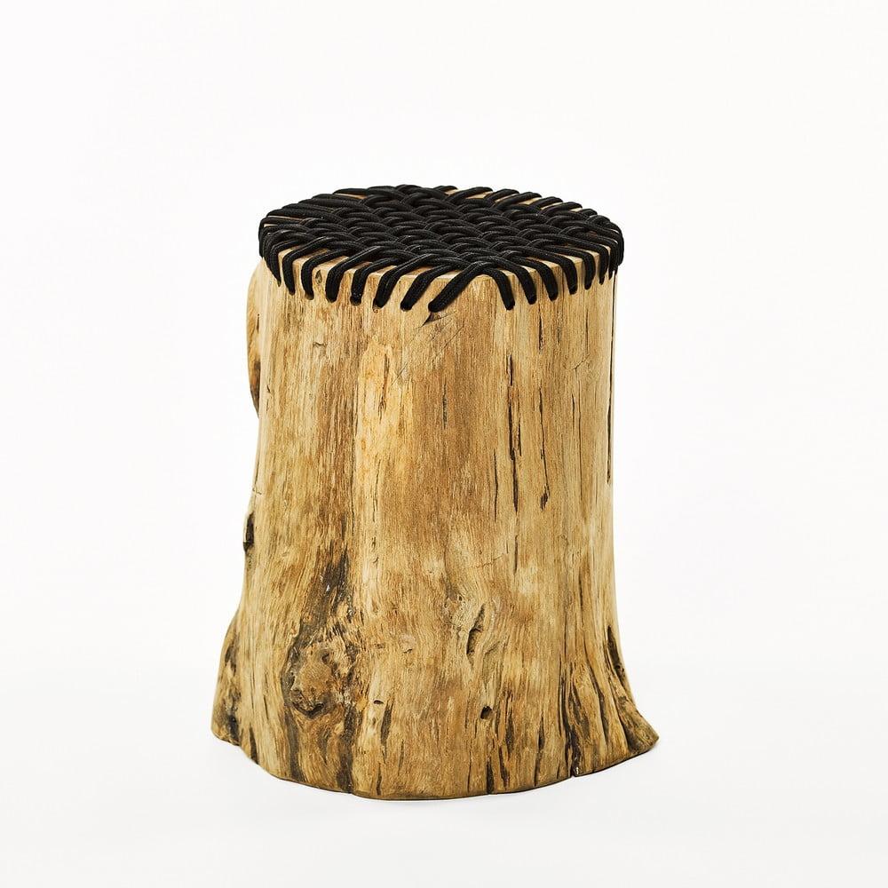 Stolička z teakového dreva Simla Stump