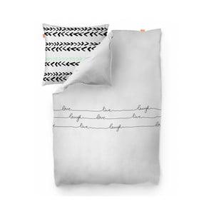 Bavlnená obliečka na paplón Blanc Live, 140 x 200 cm