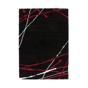 Koberec Edge 228 Black, 120x170 cm