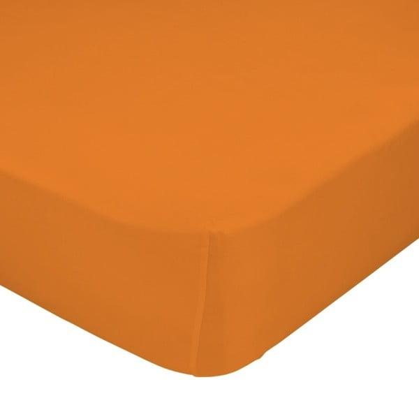 Prestieradlo Little W, 60x120 cm, oranžové