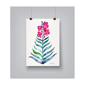 Plagát Americanflat Blooming Orchid, 30 x 42 cm