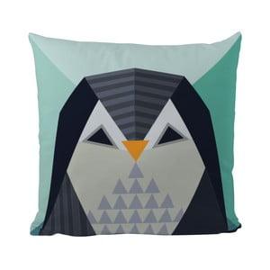 Vankúš Geometric Penguin, 50x50 cm