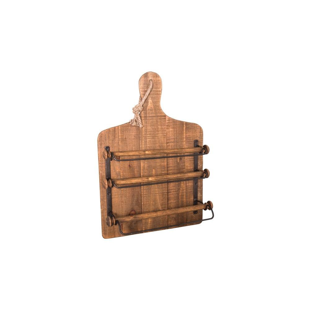 Drevený nástenný držiak na kuchynské fólie Antic Line