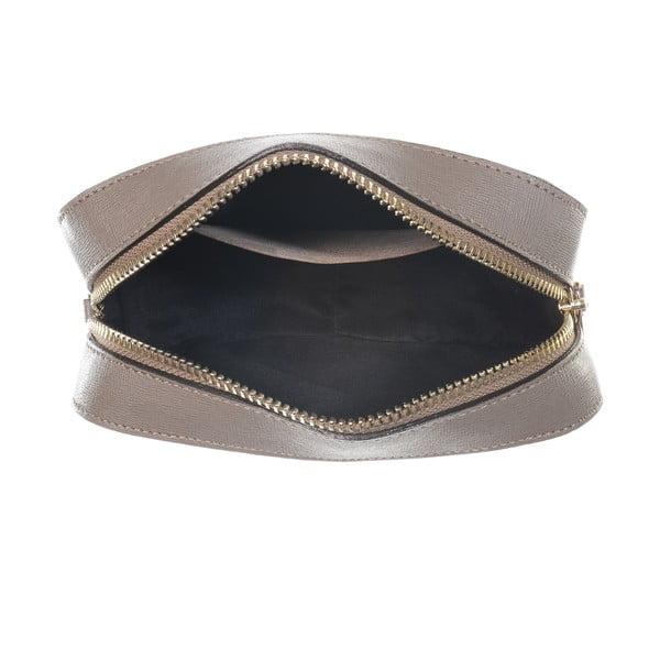 Kožená listová kabelka Little High Taupe