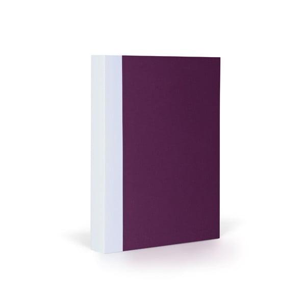 Zápisník FANTASTICPAPER A6 Aubergine/White, riadkovaný