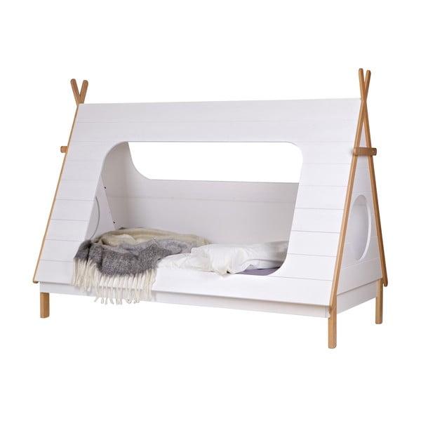 Biela detská posteľ DeEekhoorn Tipi, 90x200cm