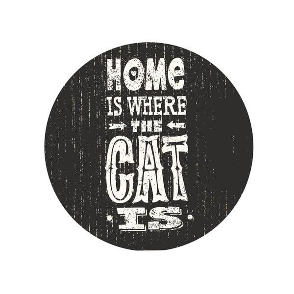 Sada 2 odkladacích stolíkov Home With Cat, 35 cm + 49 cm