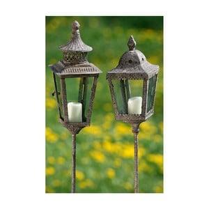 Sada 2 zapichovacích lampášikov Lantern