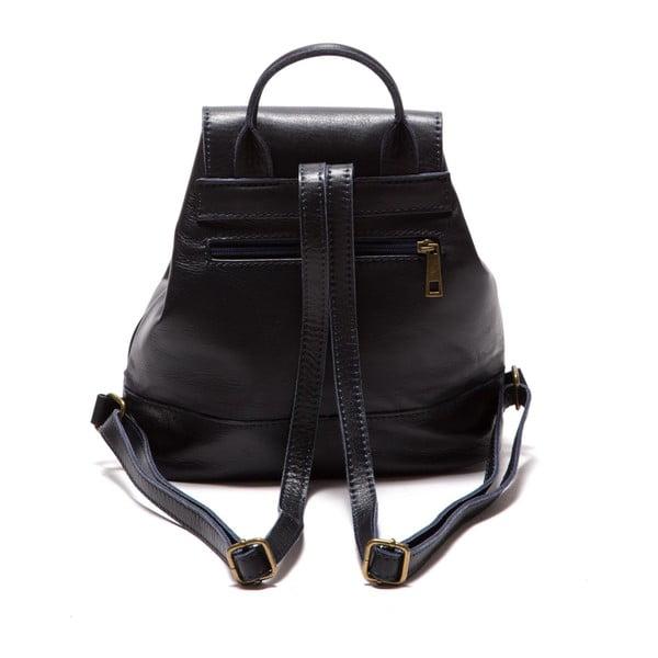 Modrý kožený batoh Sofia Cardoni Fredo