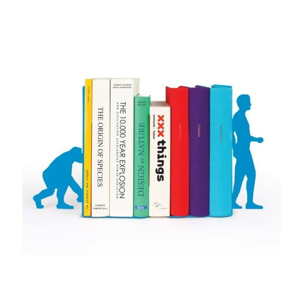 Zarážky na knihy Evolution Blue