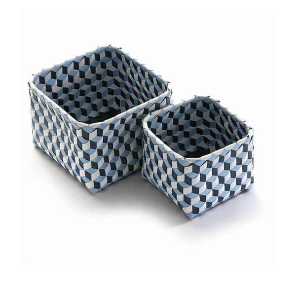 Sada 2 košíkov Azules