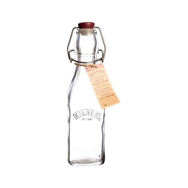 Fľaša Kilner s plastovým uzáverom, 250 ml
