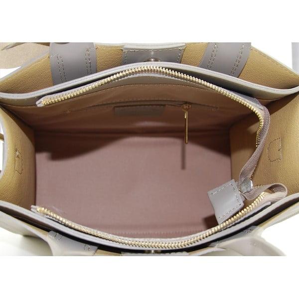 Kožená kabelka Entana Taupe