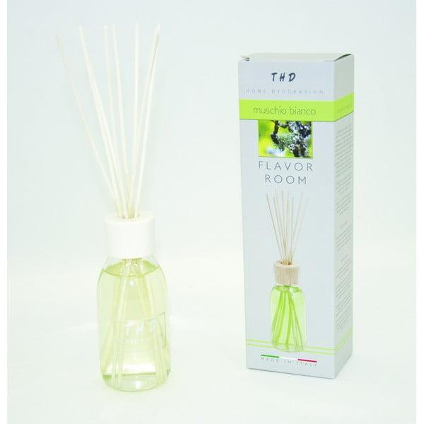Difuzér THD Fragnances, biele pižmo 200 ml