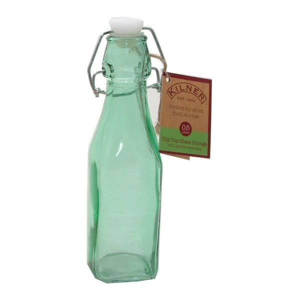 Fľaša s klipom Kilner, 250 ml, zelená