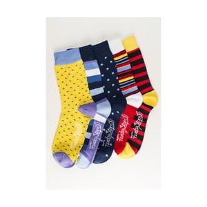 Päť párov ponožiek Funky Steps Romola, univerzálna veľkosť