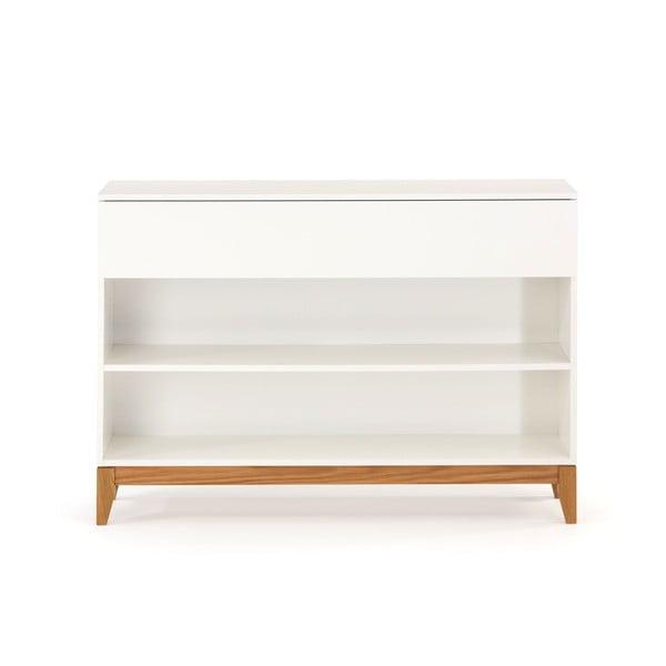 Biela komoda Woodman Blanco Bookcase