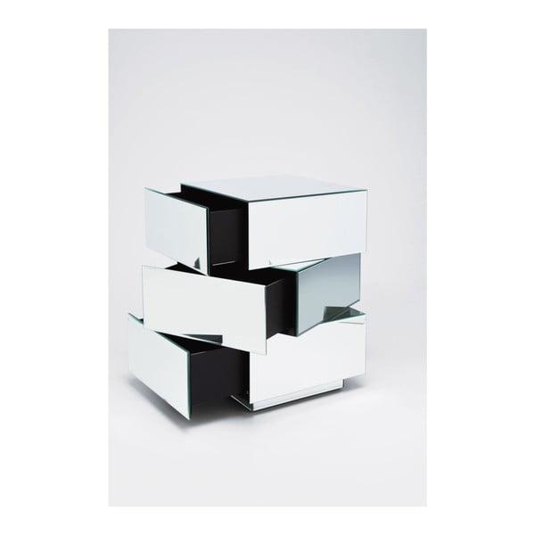 Zrkadlový stolík Kare Design Cubo