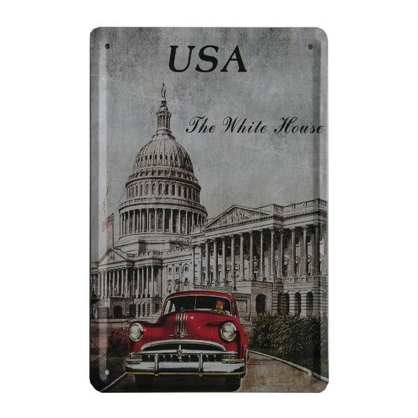 Ceduľa USA Car, 15x21 cm