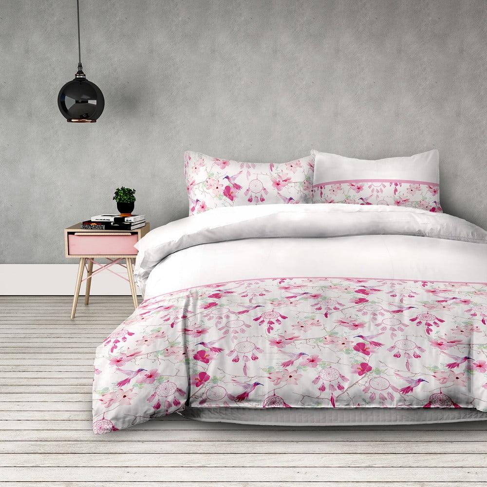 Flanelové obliečky na dvojlôžko AmeliaHome Sweet Dreams, 160 x 200 cm