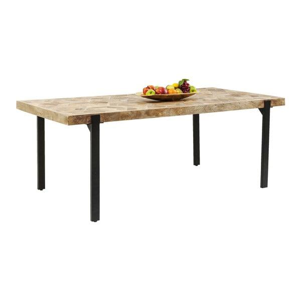 Jedálenský stôl z mangového dreva Kare Design Tortuga