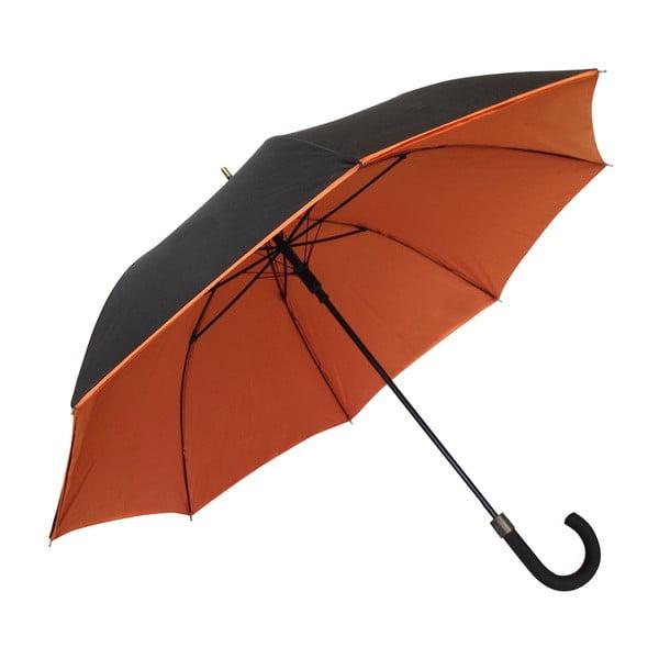 Dáždnik Ambiance Susino Noir Orange