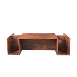 Konferenčný stolík z akáciového dreva Woodking Mallorca