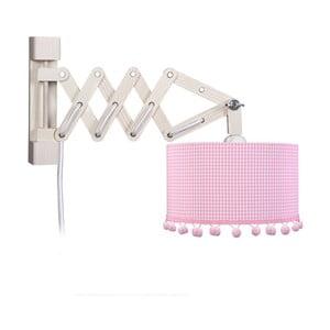 Nástenné svietidlo Pink Pompom