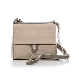 Béžová kožená kabelka Gianni Conti Melita