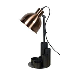 Čierno-medená stolová lampa Red Cartel Study