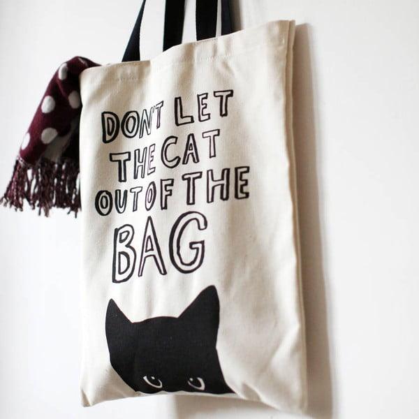 Plátená taška The Cat Out