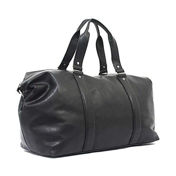 Cestovná taška Bobby Black - Black, 50x33 cm