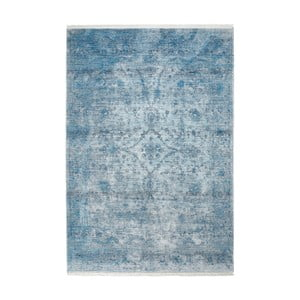 Modrý koberec Obsession Lao, 150×80 cm
