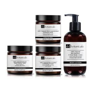 Set vyživujúcej a hydratačnej starostlivosti o pleť Dr. Botanicals Natural Skin
