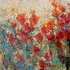 Obraz Red Poppy Field, 55x55 cm