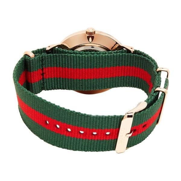 Pánske hodinky Madison Stripe Red/Green