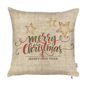 Vianočná obliečka na vankúš Apolena Honey XMas, 43 x 43 cm