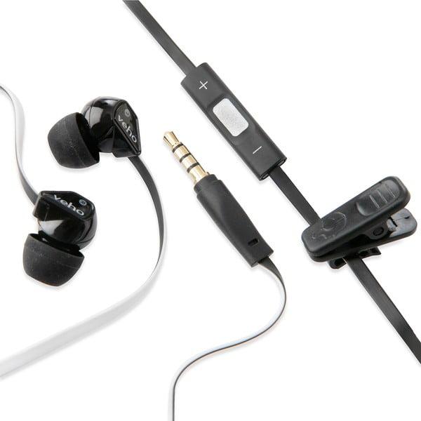 Slúchadlá s mikrofónom Veho Z2, biele