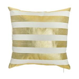 Obliečka na vankúš Apolena Gold Stripes, 45x45cm
