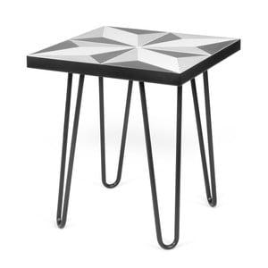 Čierny príručný stolík TemaHome Arrow