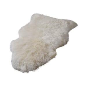 Krémovobiely koberec z novozélandskej ovčej kožušiny Native Sheep